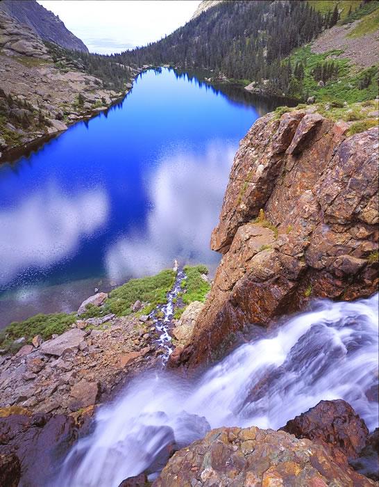 0291 Willow Lake Waterfall
