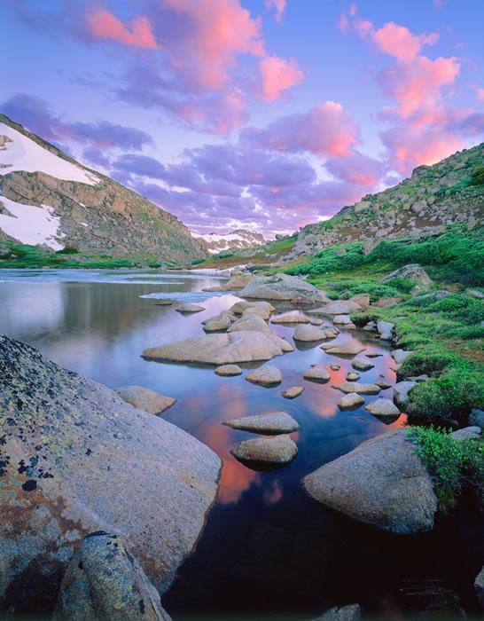 0404 Notch Lake Sunrise #2